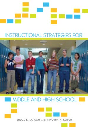 Instructional Strategies For Middle And High School Taylor