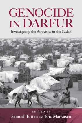 Genocide in Darfur: Investigating the Atrocities in the Sudan, 1st Edition (Hardback) book cover