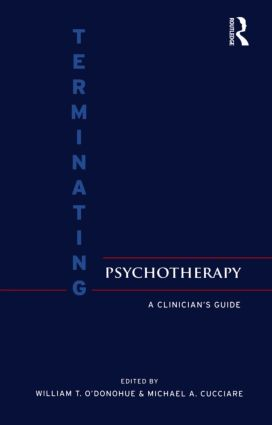 Terminating Psychotherapy: A Clinician's Guide (Hardback) book cover