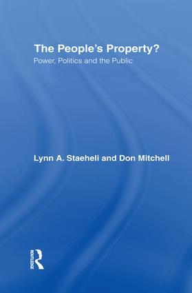 Power, Politics, and Regimes of Publicity
