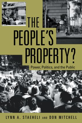 The People's Property?: Power, Politics, and the Public., 1st Edition (Paperback) book cover