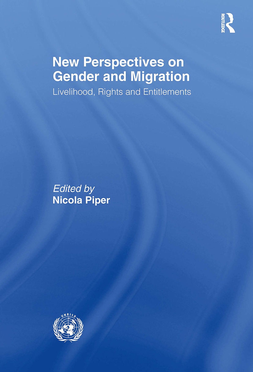 New Perspectives on Gender and Migration: Livelihood, Rights and Entitlements (Paperback) book cover