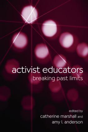 Activist Educators: Breaking Past Limits (Paperback) book cover