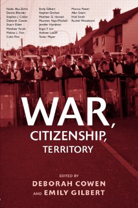 War, Citizenship, Territory (Hardback) book cover