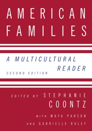 American Families: A Multicultural Reader, 2nd Edition (Paperback) book cover
