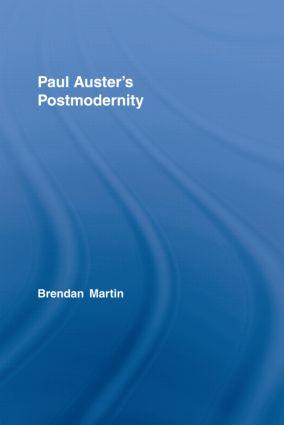 Paul Auster's Postmodernity (Hardback) book cover