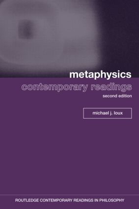 Metaphysics: Contemporary Readings: 2nd Edition book cover