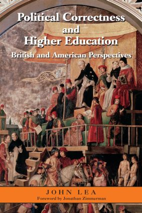 Political Correctness and Higher Education: British and American Perspectives (Paperback) book cover