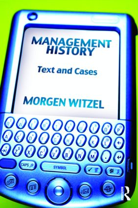 Management History: Text and Cases (Paperback) book cover
