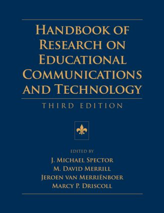 Handbook of Research on Educational Communications and Technology: Third Edition, 3rd Edition (Paperback) book cover
