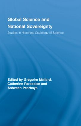 Global Science and National Sovereignty: 1st Edition (Hardback) book cover