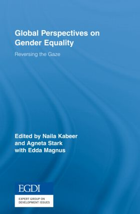 Global Perspectives on Gender Equality: Reversing the Gaze (Hardback) book cover