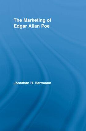 The Marketing of Edgar Allan Poe (Hardback) book cover