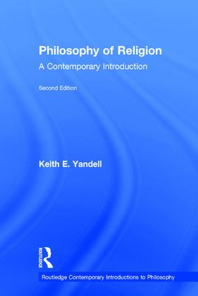 Philosophy of Religion: A Contemporary Introduction book cover