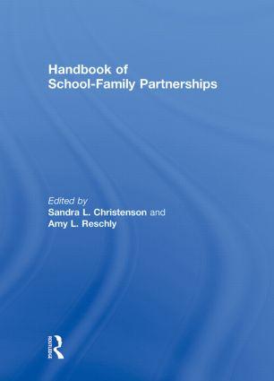 Handbook of School-Family Partnerships (Hardback) book cover