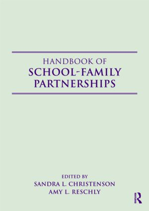 Handbook of School-Family Partnerships (Paperback) book cover