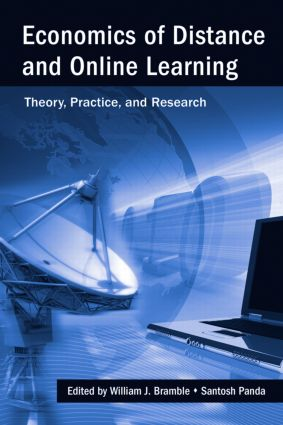 Economics of Distance and Online Learning: Theory, Practice and Research, 1st Edition (Hardback) book cover