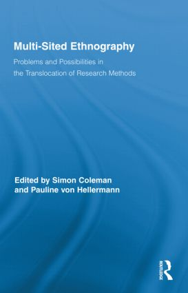 Multi-Sited Ethnography: Problems and Possibilities in the Translocation of Research Methods (Hardback) book cover