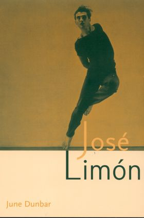 Jose Limon: An Artist Re-viewed, 1st Edition (Paperback) book cover