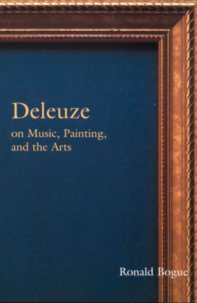 Deleuze on Music, Painting and the Arts (Paperback) book cover