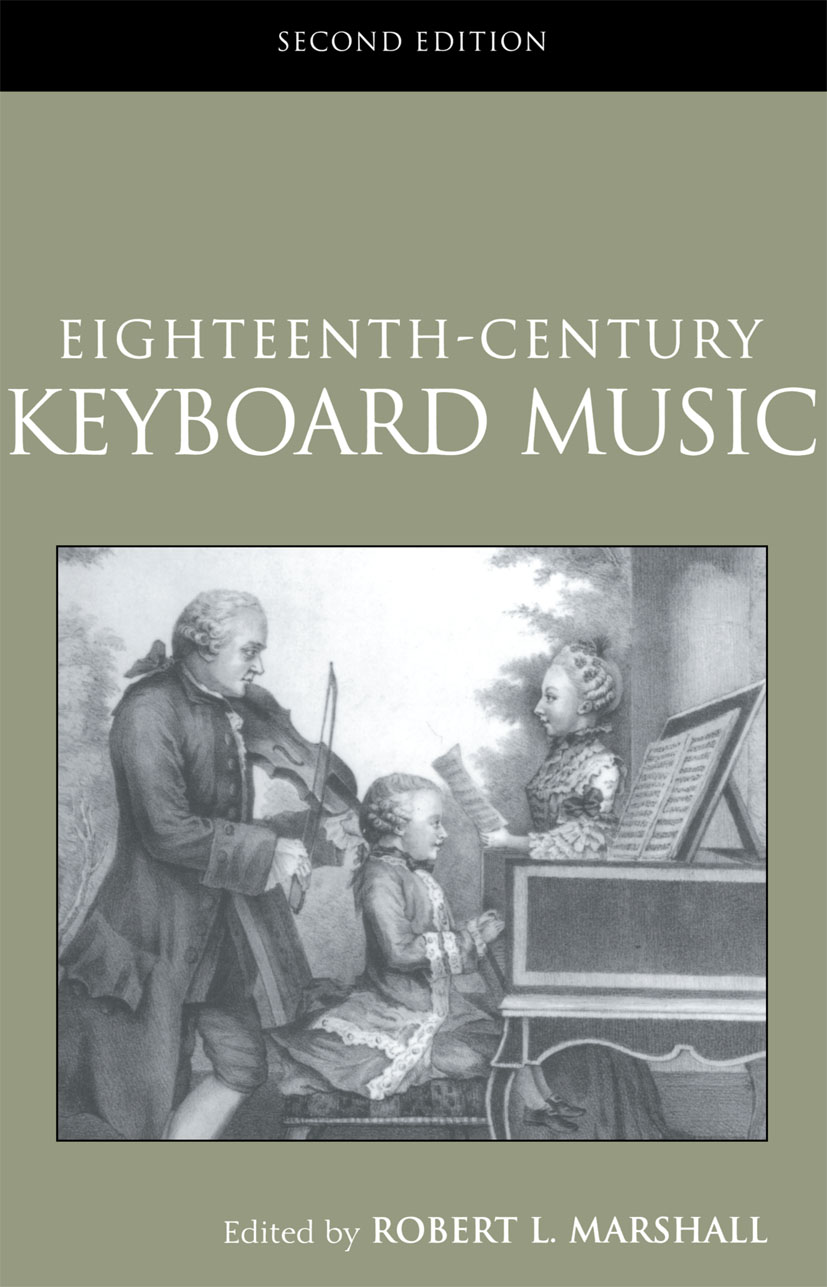 Eighteenth-Century Keyboard Music: 2nd Edition (Paperback) book cover