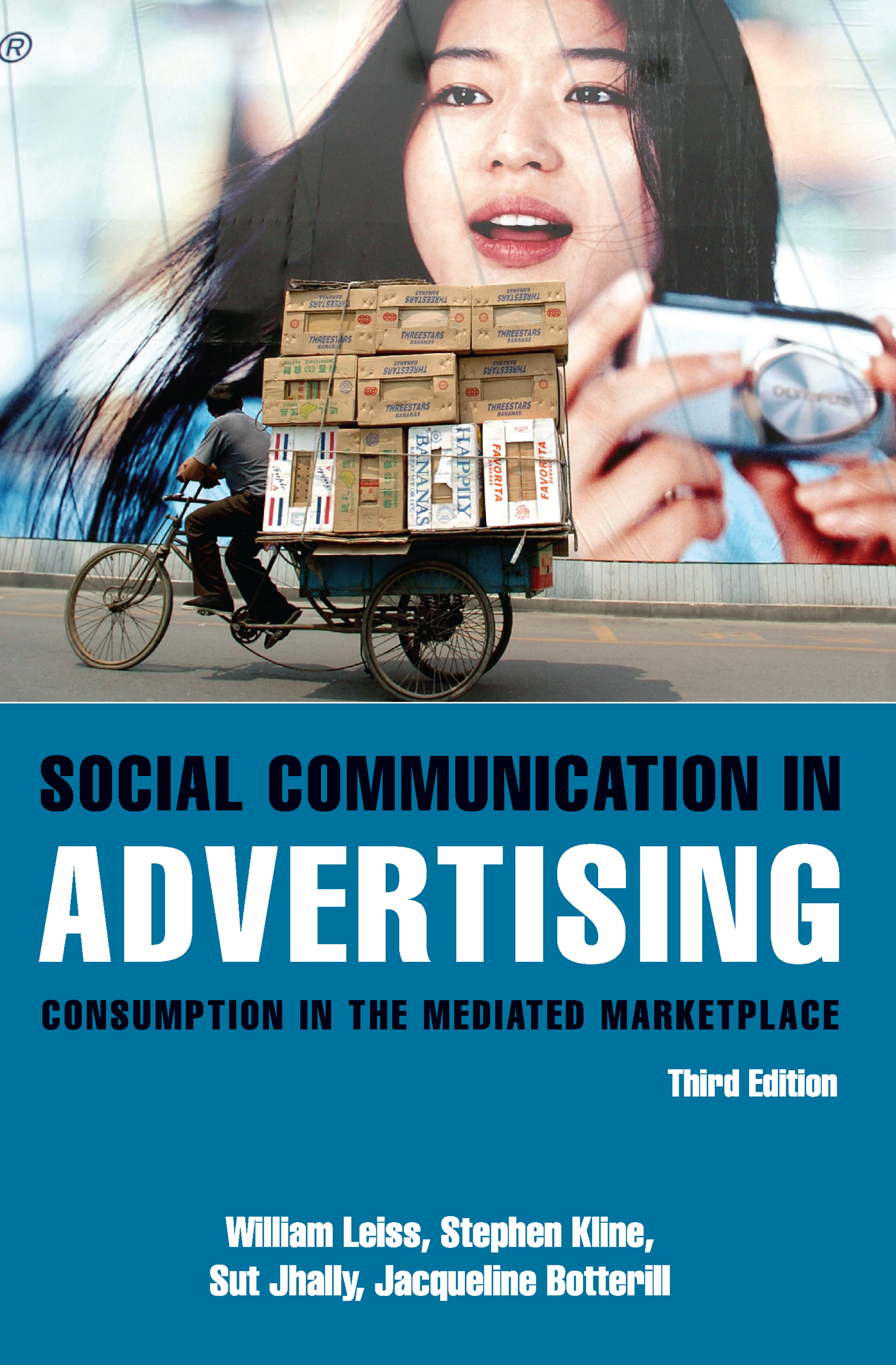 Social Communication in Advertising: Consumption in the Mediated Marketplace, 3rd Edition (Paperback) book cover