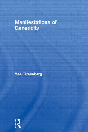 Manifestations of Genericity (Hardback) book cover