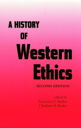 A History of Western Ethics