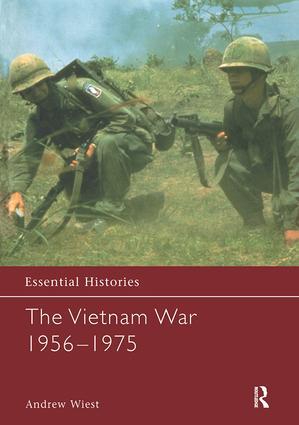 The Vietnam War 1956-1975: 1st Edition (Hardback) book cover