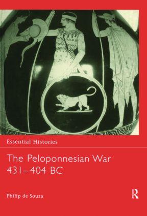 The Peloponnesian War 431-404 BC book cover