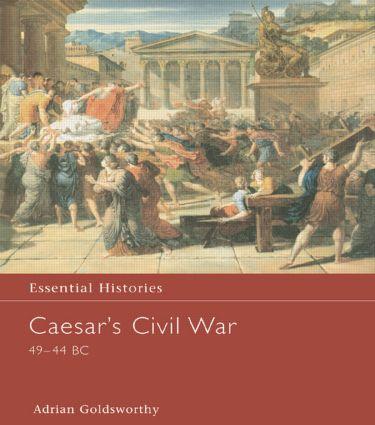 Caesar's Civil War 49-44 BC book cover