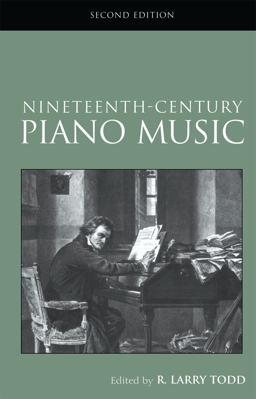 Nineteenth-Century Piano Music: 2nd Edition (Paperback) book cover