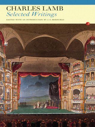 Charles Lamb: Selected Writings (Paperback) book cover