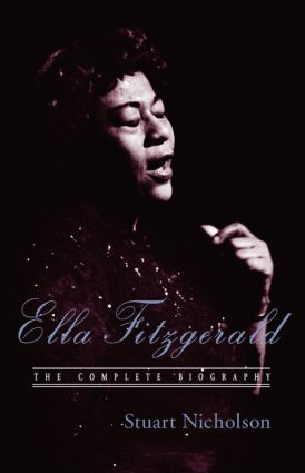Ella Fitzgerald: A Biography of the First Lady of Jazz, Updated Edition (Paperback) book cover