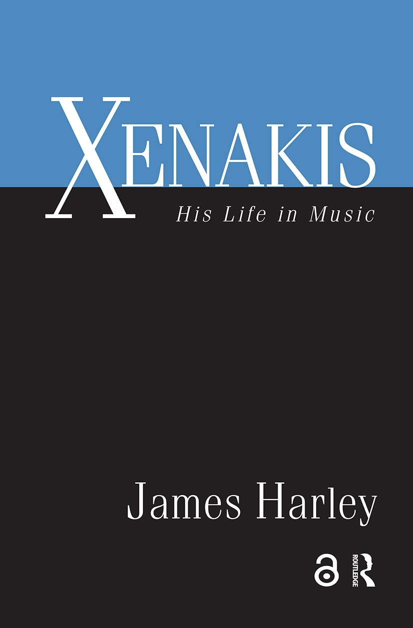 Xenakis: His Life in Music (Hardback) book cover