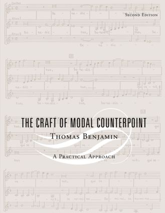The Craft of Modal Counterpoint: 2nd Edition (Paperback) book cover