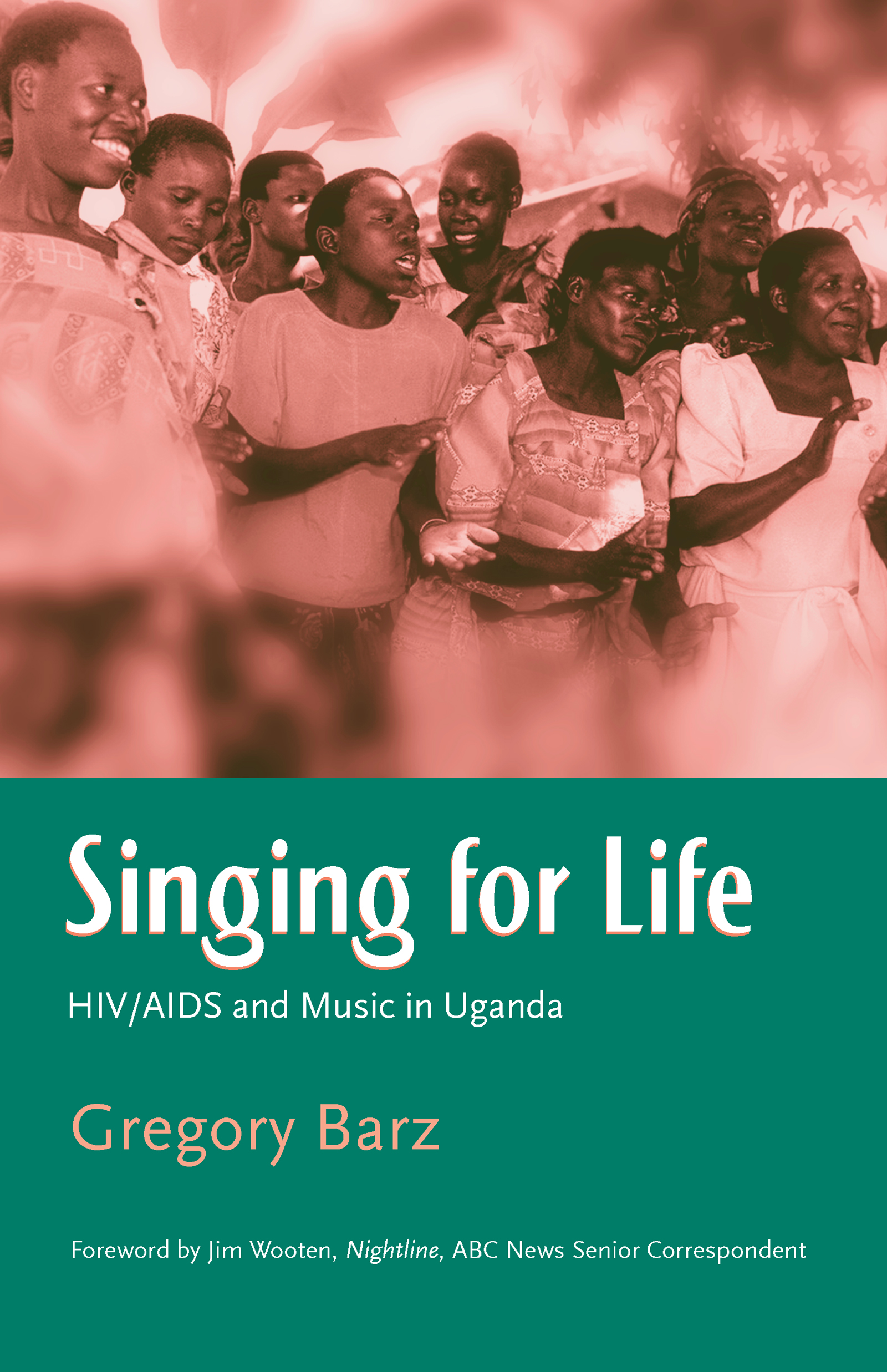 Singing For Life: HIV/AIDS and Music in Uganda (Paperback) book cover