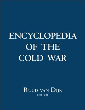 Encyclopedia of the Cold War (Hardback) book cover