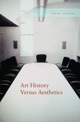 Art History Versus Aesthetics (Paperback) book cover
