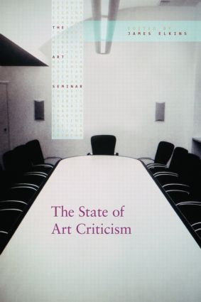The State of Art Criticism (Paperback) book cover