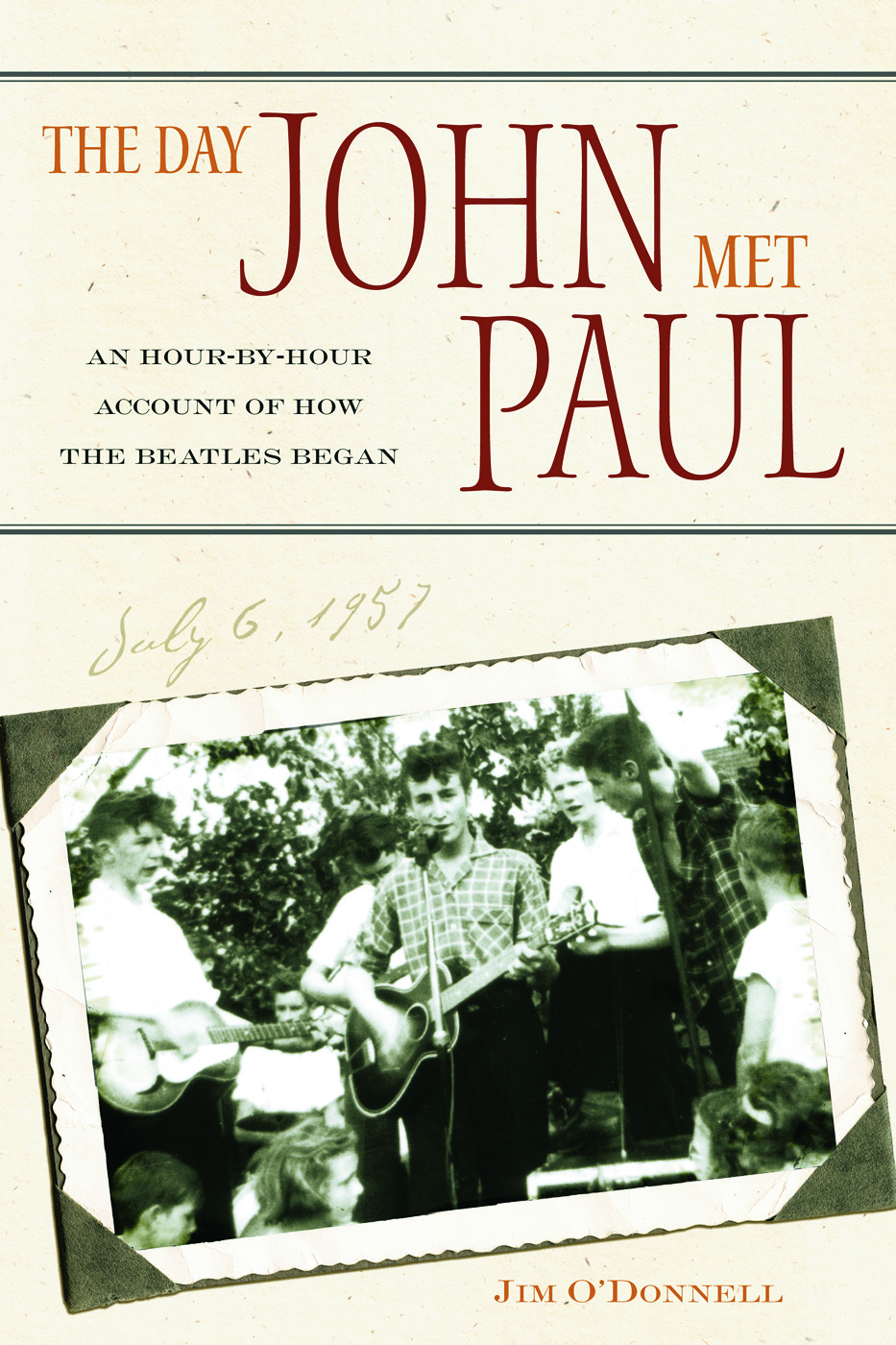 The Day John Met Paul: An Hour-by-Hour Account of How the Beatles Began, 1st Edition (Paperback) book cover