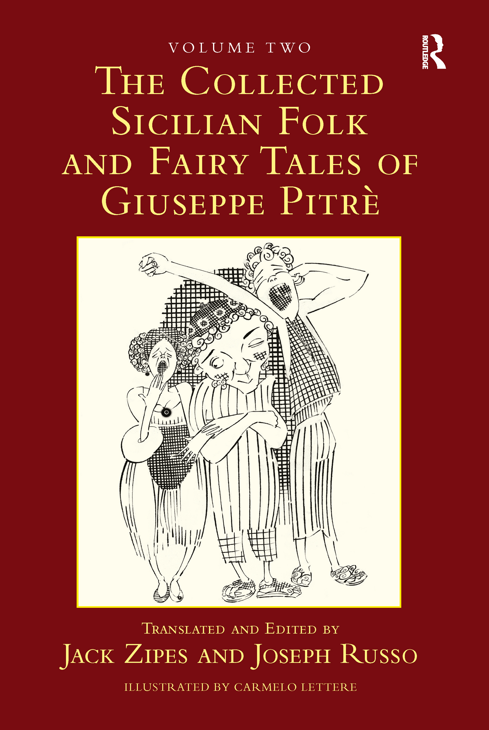 The Collected Sicilian Folk and Fairy Tales of Giuseppe Pitré (Hardback) book cover