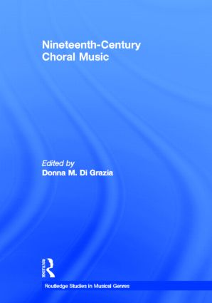 Nineteenth-Century Choral Music book cover