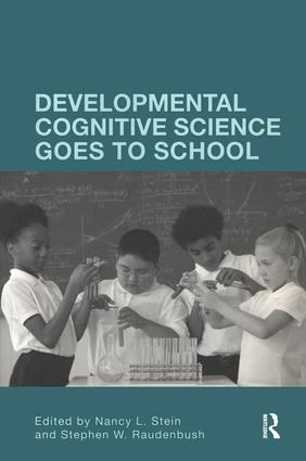 Developmental Cognitive Science Goes to School (Paperback) book cover