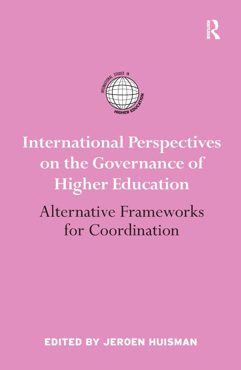 International Perspectives on the Governance of Higher Education: Alternative Frameworks for Coordination (Hardback) book cover