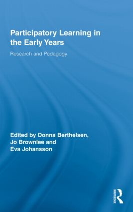 Participatory Learning in the Early Years: Research and Pedagogy book cover