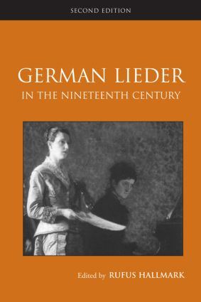 German Lieder in the Nineteenth Century: 2nd Edition (Paperback) book cover