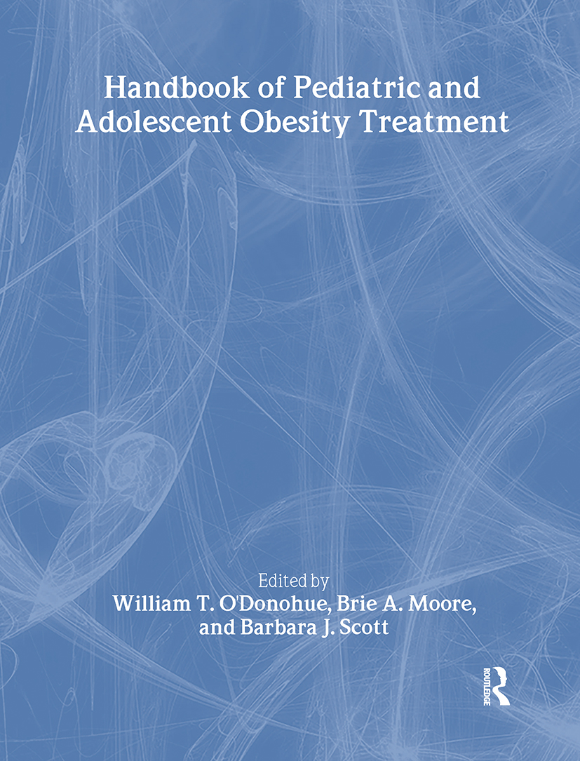 Handbook of Pediatric and Adolescent Obesity Treatment (Paperback) book cover