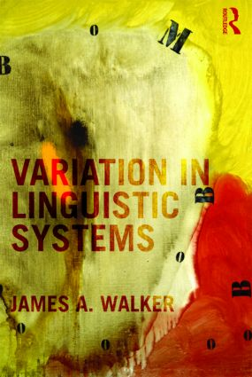 Variation in Linguistic Systems (Hardback) book cover