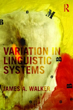 Variation in Linguistic Systems: 1st Edition (Paperback) book cover